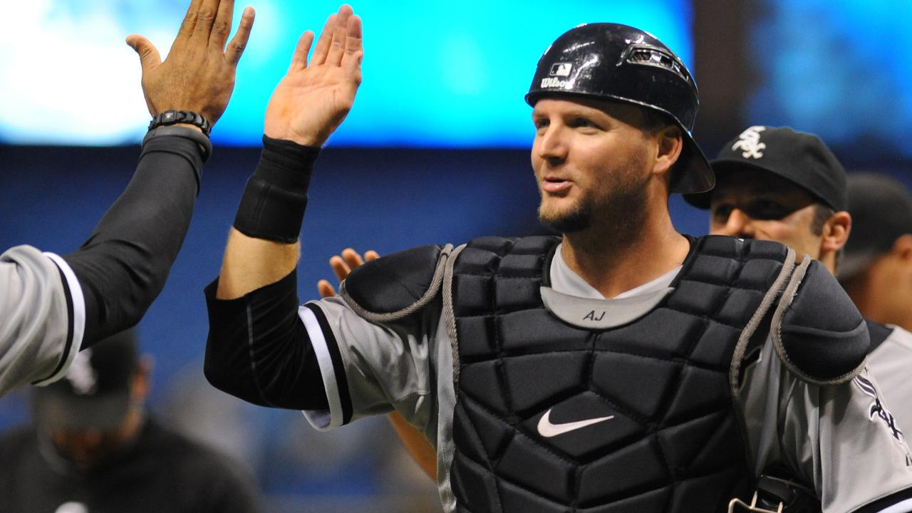 Pierzynski hopes to call '18 game with Hawk